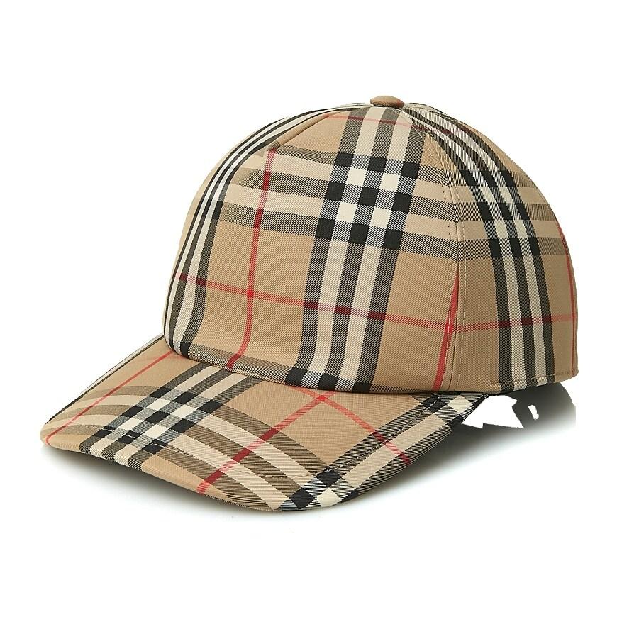 [버버리] 로고 아플리케 빈티지 체크 야구 모자 80... 가격
