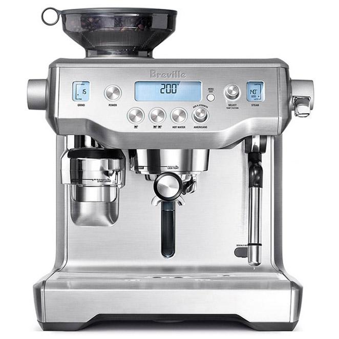브레빌 오라클 커피머신 실버, BES980