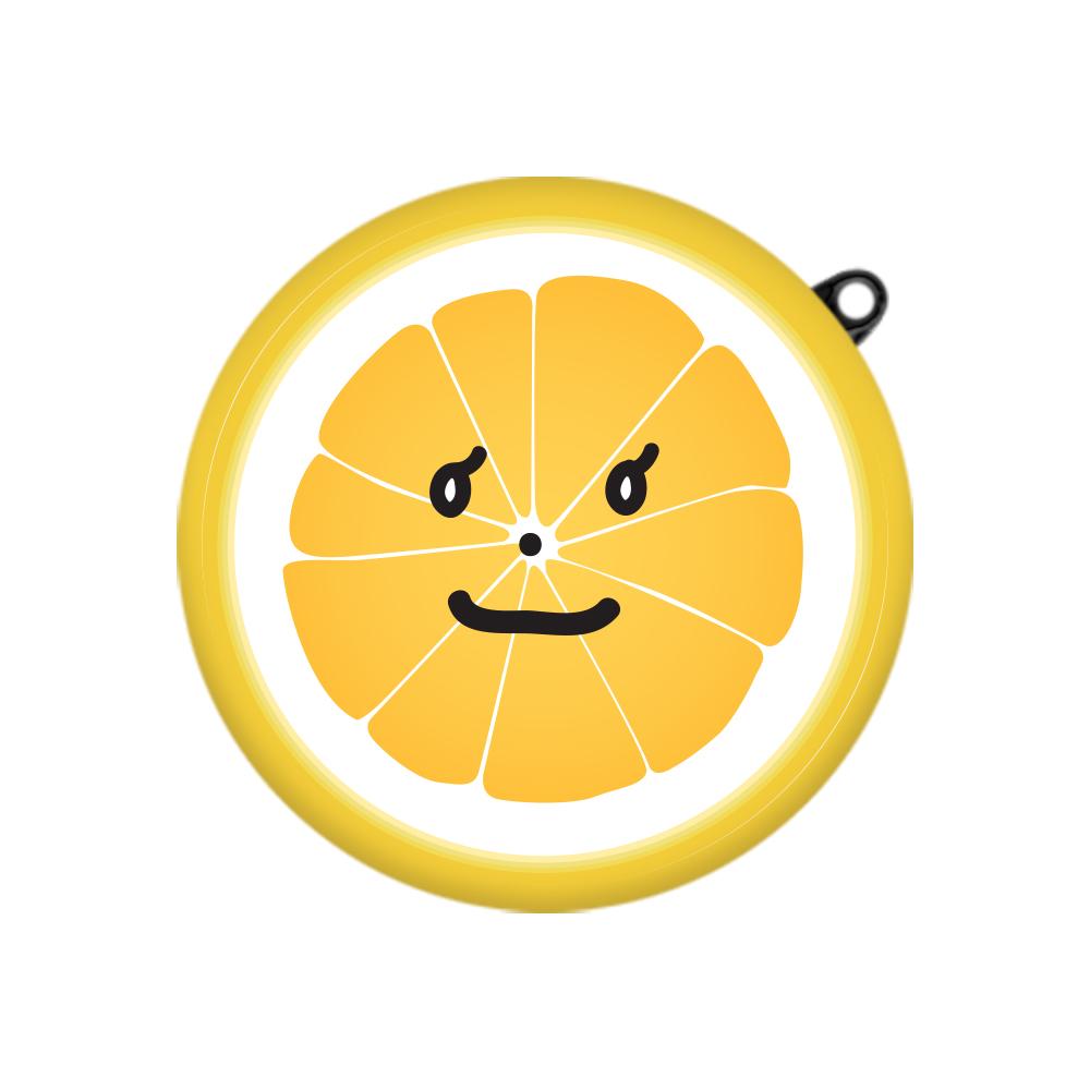 구스페리 후르츠 일러스트 디자인 LG 톤 플러스 프리 케이스, 단일상품, 해맑은오렌지