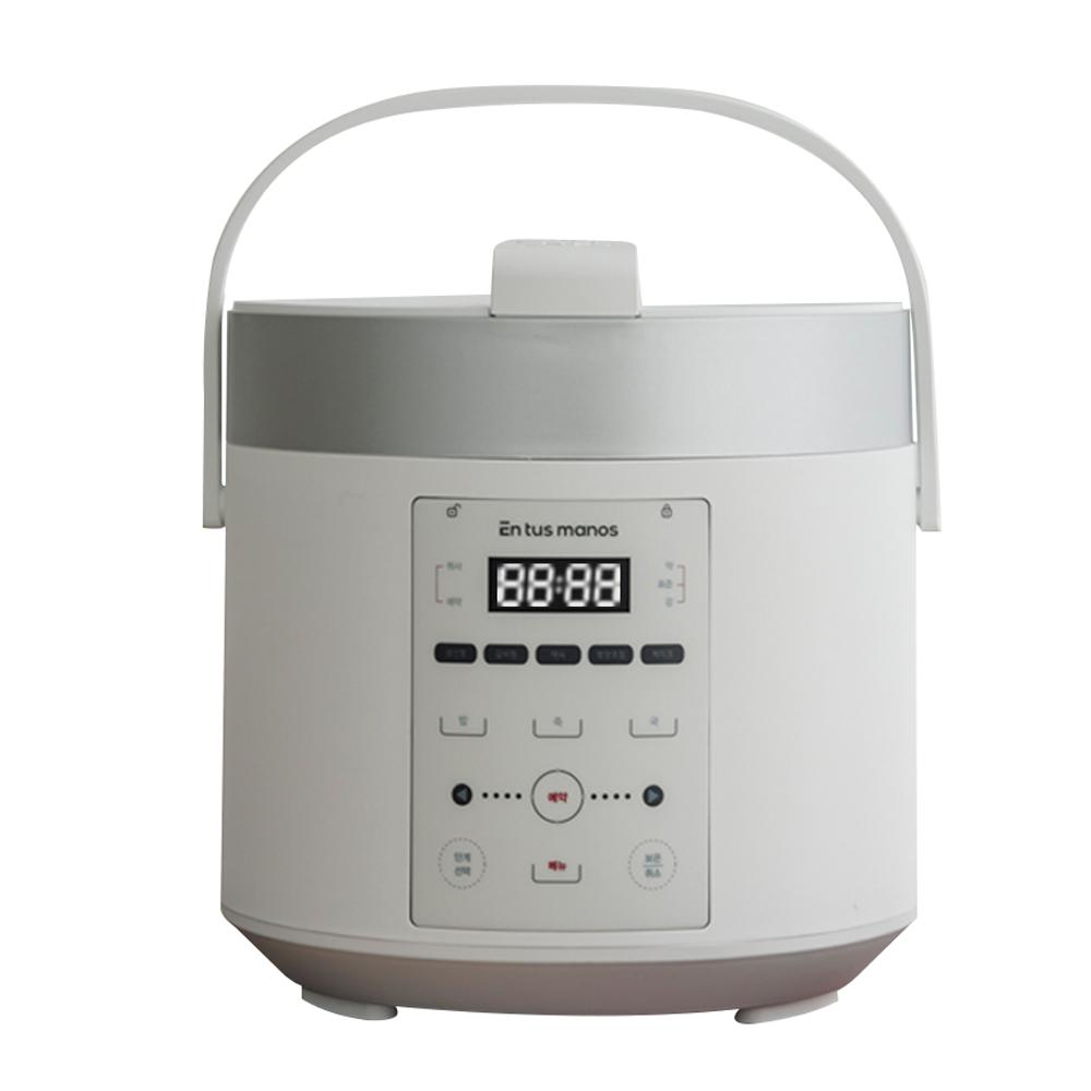 엔뚜마노 마이프레셔 전기 압력밥솥 3~4인용 1.7L, EM-PR7000(화이트)