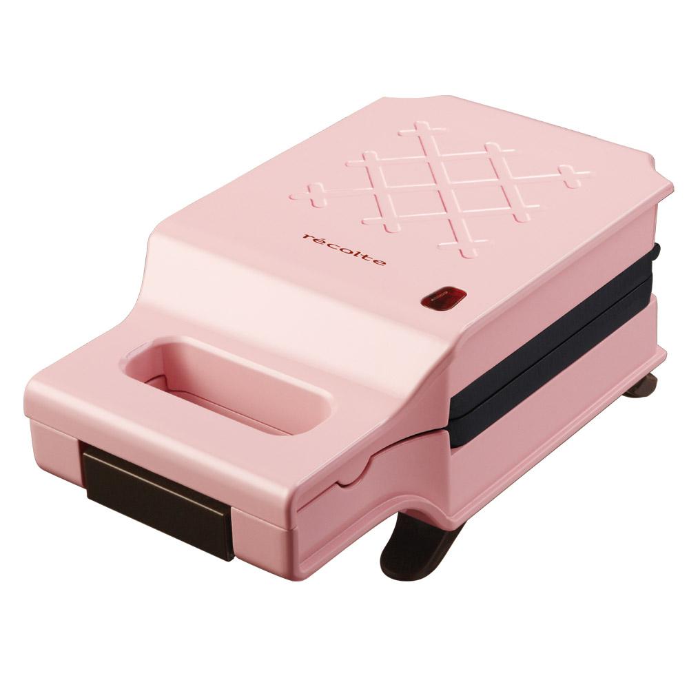 레꼴뜨 퀼트 프레스 샌드위치 메이커, RPS-1(핑크)