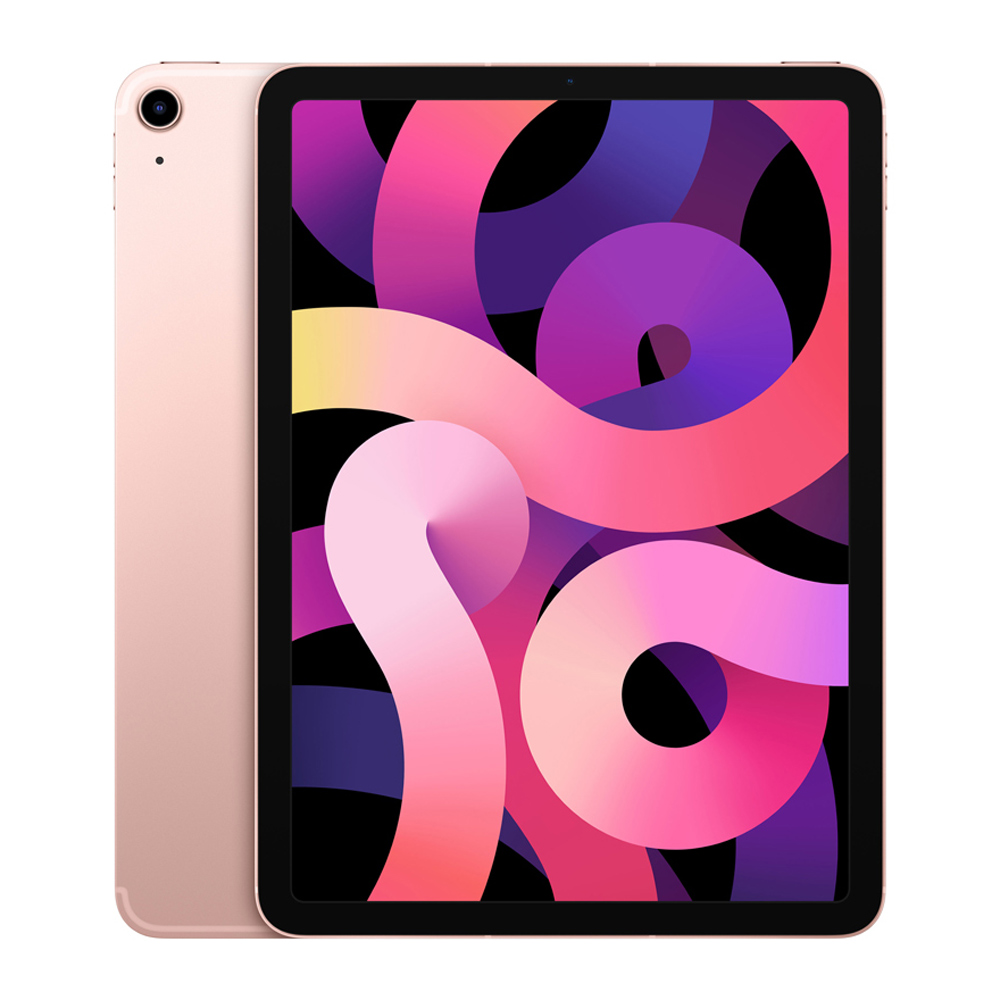 Apple 2020년 iPad Air 10.9 4세대, Wi-Fi+Cellular, 256GB, 로즈 골드
