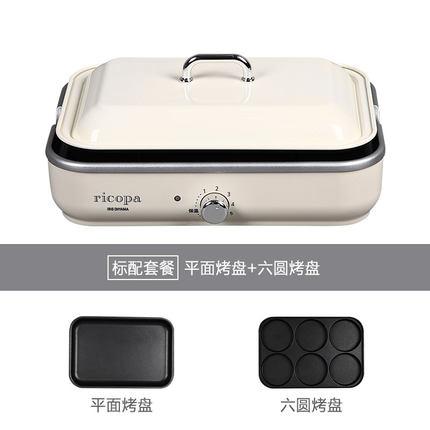 일본 IRIS 나혼자산다 다기능 연기가 안나는 바베큐 전기그릴, 단품