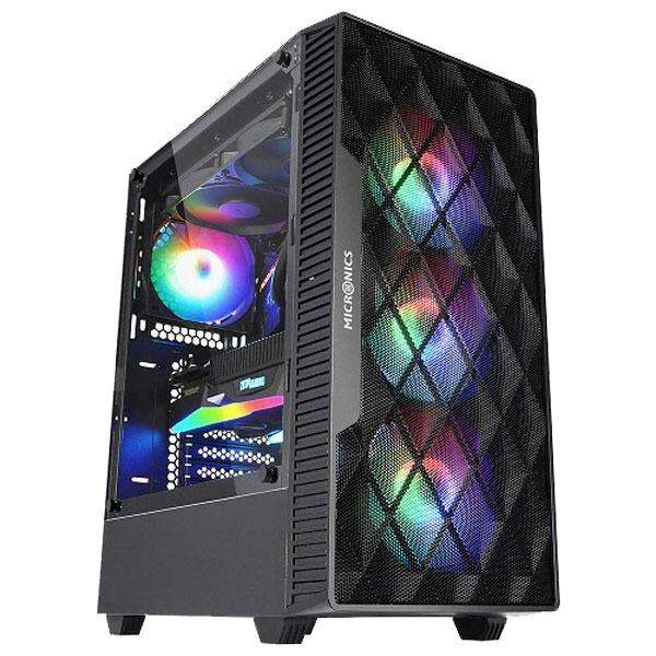 초이스컴 10세대 인텔 조립PC 고사양 게이밍컴퓨터 윈도우10포함, 기본형, 10th게이밍 1번-i3-10100+1050Ti+8GB