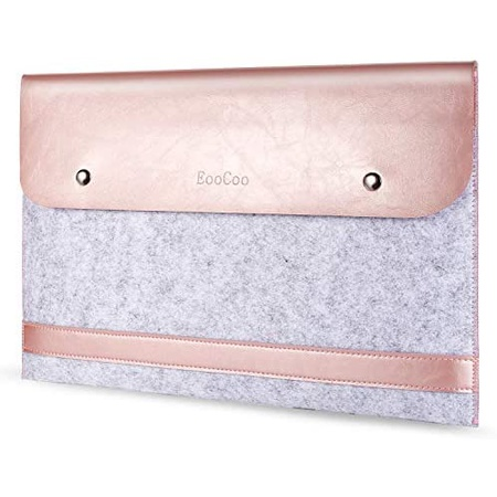 맥북 프로 13인치 2020 파우치 P233 EooCoo Fashion Laptop Bag Sleeve Case Briefcase Cover for MacBook, One Color
