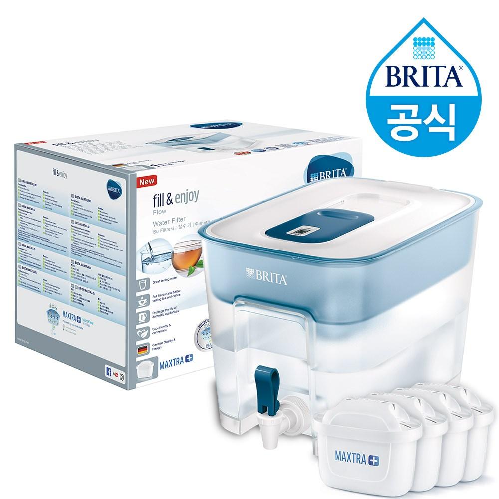 브리타 플로우 8.2L +필터 5개월분(기본구성필터포함) 정수기, 플로우 8.2 L