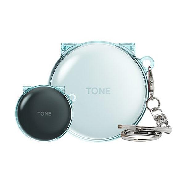 솔리드 LG 톤프리 투명 일체형 케이스 (HBS-TFN4 5 6), 클리어 투명, LG 톤프리 (HBS-TFN6)
