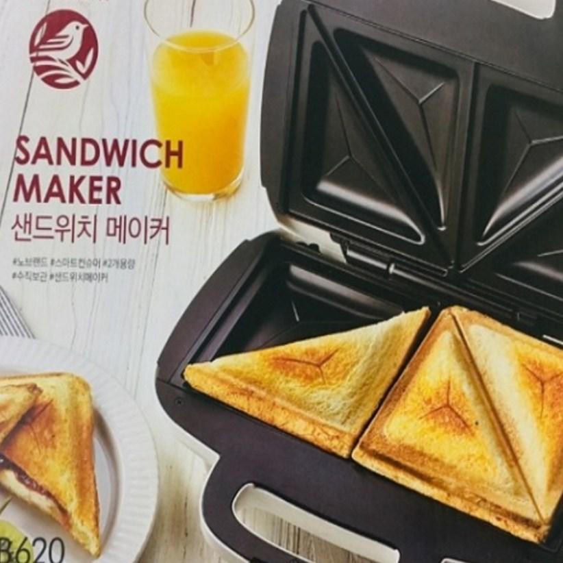 노브랜드 샌드위치메이커 토스트제조기, SMX-N1801
