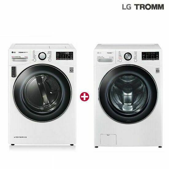 LG 스팀건조기16kg+세탁기 21kg 화이트 (F21WDD+RH16WT) 1등급, 단품
