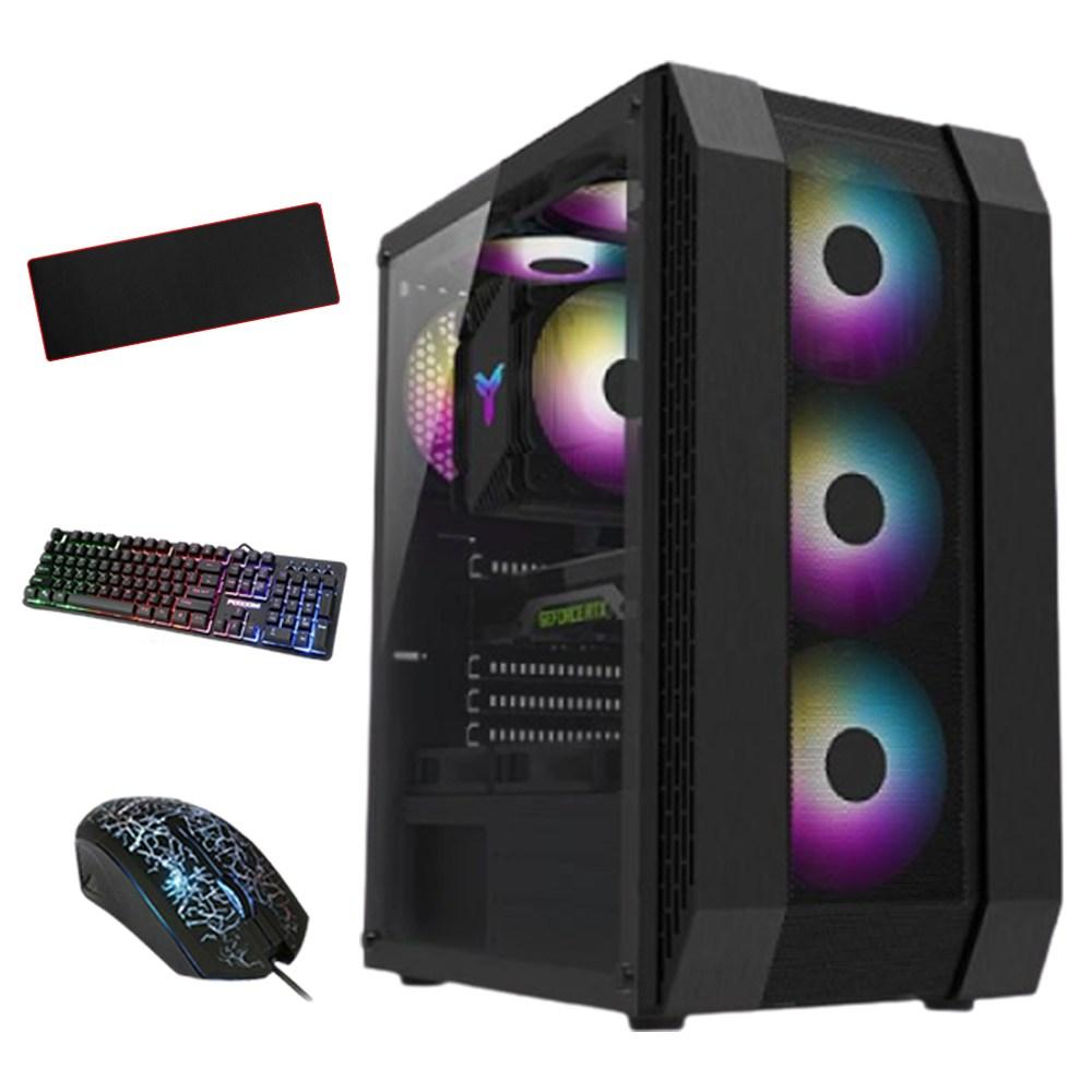 컴퓨터도매집 게이밍 조립식 컴퓨터 본체 배틀그라운드 로스트아크 롤 서든어택 오버워치 피파온라인4 조립 PC, 모델선택, 게임용4번